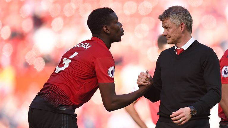 Ole Gunnar Solskjaer says he still hopes to build his Manchester United team around Paul Pogba, despite the France midfielder admitting he wants a 'new challenge'.