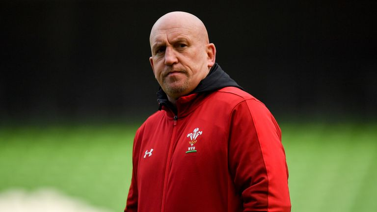Wales coach Warren Gatland teased after team selection for Fiji match