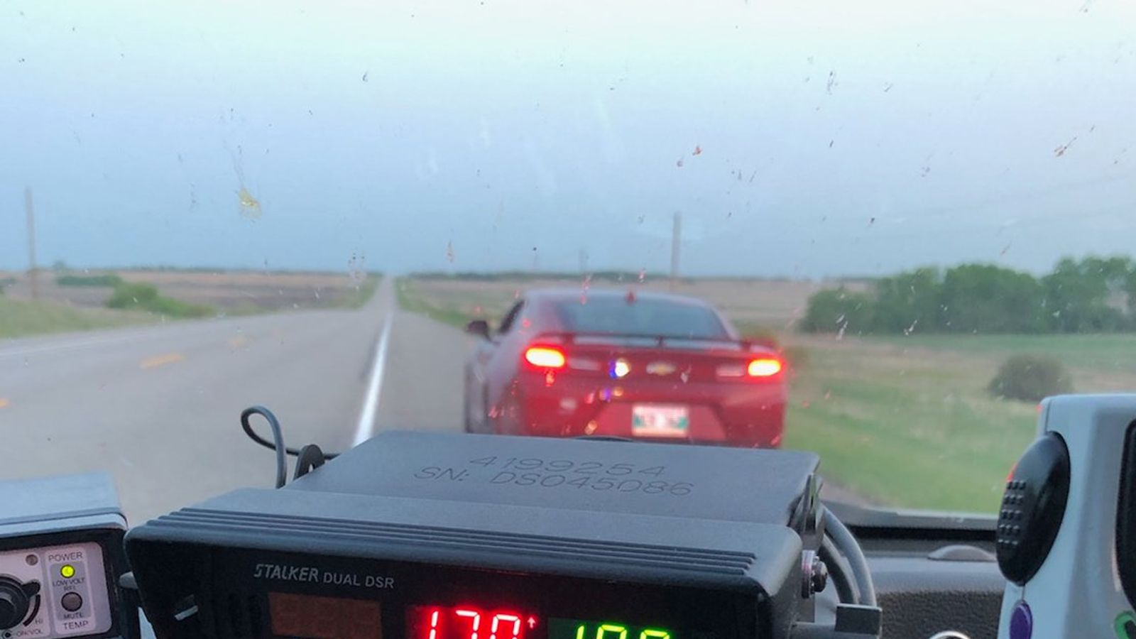 Teen driving at 106mph 'needed bathroom after too many hot wings'