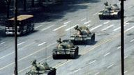 A man standing in front of tanks is one of the enduring images of the crackdown