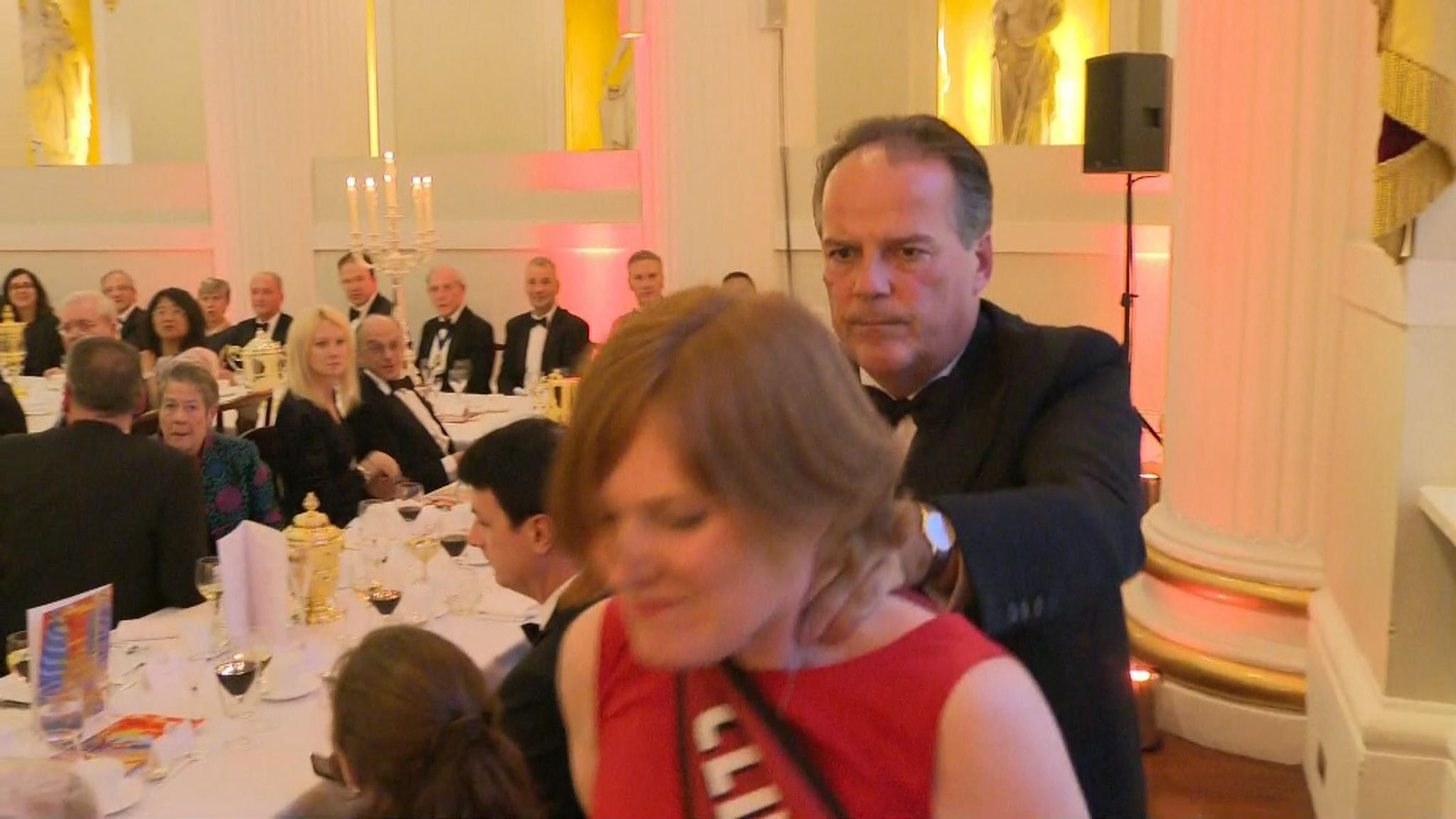 Mark Field: Former Conservative minister who grabbed protester at Mansion House to quit as MP