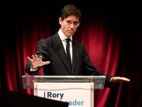 Rory Stewart formally launches his bid to become the new leader of the Conservative Party and prime minister
