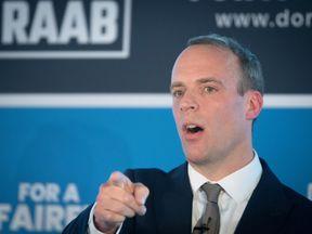 Former Brexit Secretary Dominic Raab