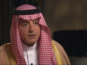Saudi foreign minister Adel al-Jubeir has told Sky News the Saudi government wanted to 'avoid war at all costs' with Iran