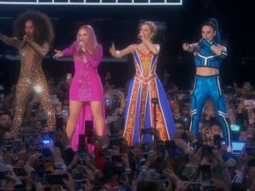 The Spice Girls performed their first concert at Wembley Stadium in 21 years -- playing to a sold-out crowd of more than 70,000