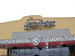 The studios in Leavesden are known for housing the set for the Harry Potter series