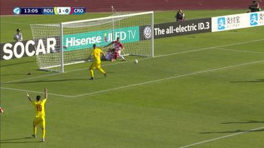 Romania U21 4-1 Croatia U21