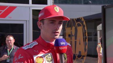 Leclerc analyses Austria pole lap