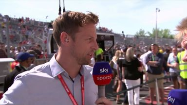 Button on Vettel time penalty