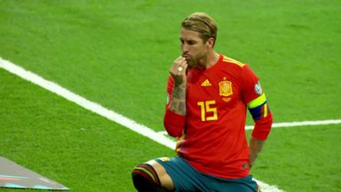 Spain lead through Ramos' pen