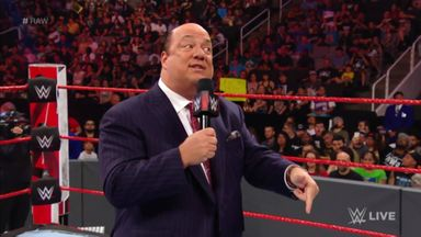 Heyman addresses Rollins' actions