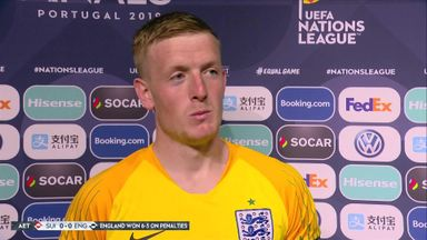 Pickford admits to penalty nerves