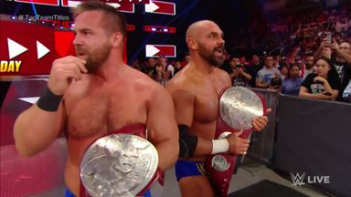 The Revival win Raw tag-team titles