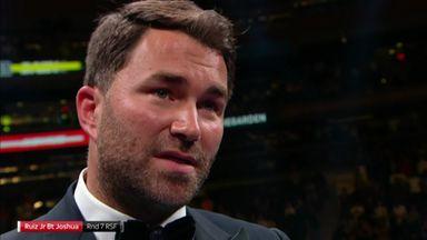 Hearn admits AJ got sloppy