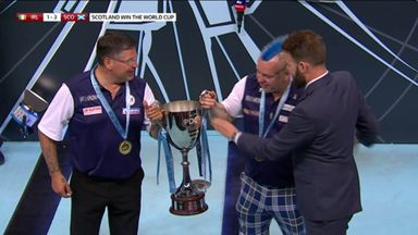 Scotland lift the World Cup!