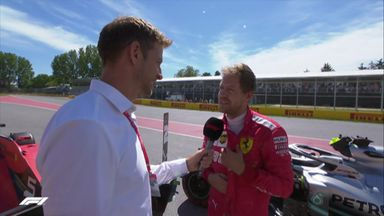 Vettel: Adrenaline was high