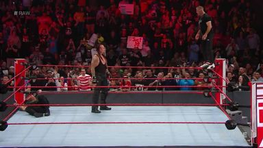 The Undertaker chokeslams Shane McMahon!