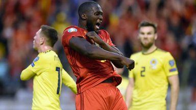 Euro Qualifier: BEL v SCO Hlts