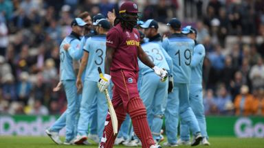 ICC WC: England v West Indies