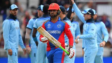 ICC WC: England v Afghanistan