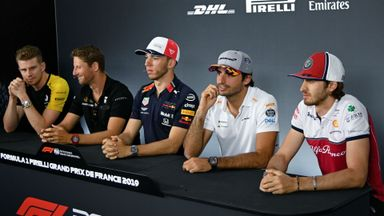 Driver Press Conference: French GP