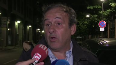 Platini: I've always been transparent