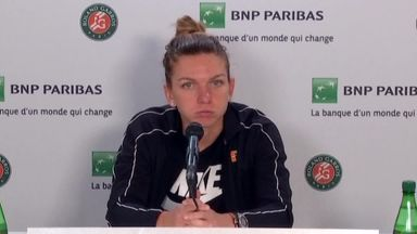 Halep sad after French Open exit