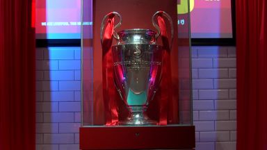 Champions League trophy back at Anfield