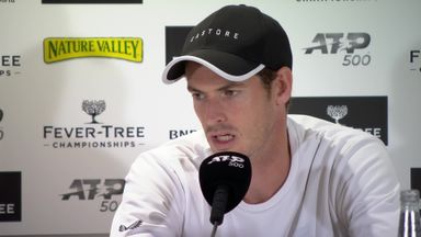Murray feels 'zero discomfort' after win