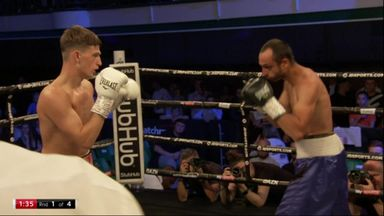 1st round KO for Frankham