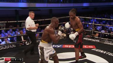 'Spider' Richards takes down Sterling