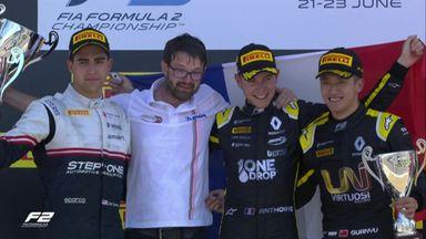 F2: Race 2 - Top 3