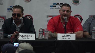 Ruiz: AJ is not a good boxer