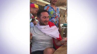 Lampard celebrates birthday in France