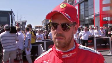 Vettel: Didn't get best out of car