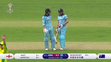 CWC highlights: England vs Australia