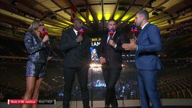 Pundits: AJ lacked fear factor
