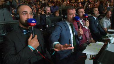 Commentators amazed by AJ knockdown