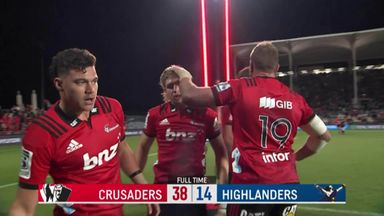Crusaders 38-14 Highlanders