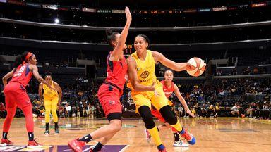 WNBA: Mystics 81-52 Sparks