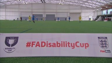 'FA Disability Cup plays vital role'
