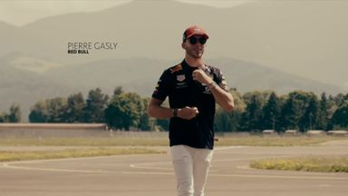 Gasly's Red Bull Air Race