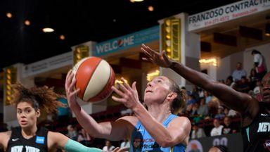 WNBA: Sky 91-83 Liberty