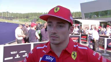 Leclerc angry at result
