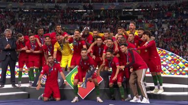 Ronaldo lifts the Nations League