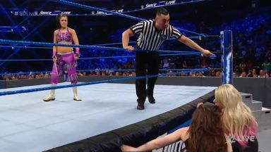 Did Cross make Bayley pay?