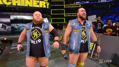 Heavy Machinery impress on SmackDown