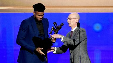 Giannis crowned Most Valuable Player