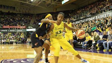 WNBA: Fever 61-65 Storm