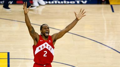 Kawhi drops 22 in Finals-clinching win